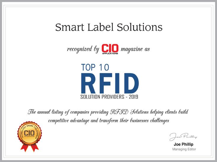 CIO magazine recognition